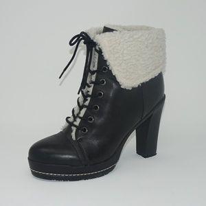 Kelsi Dagger Leather Ricci Boots 8.5